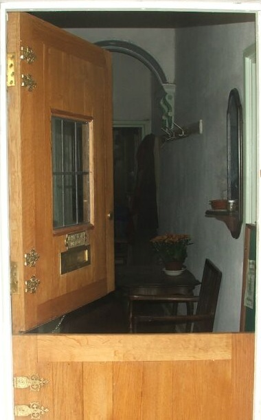 The front door to House Morgain